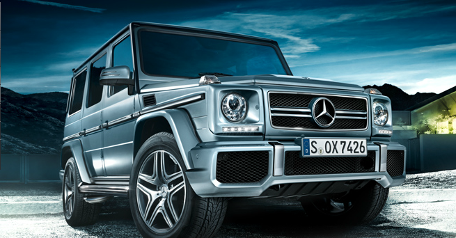 2015 Mercedes-Benz G-Class Exterior Front End