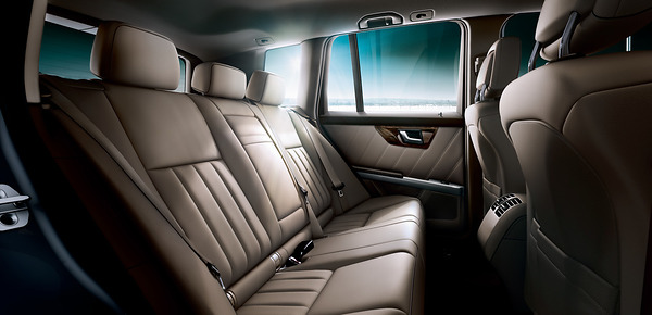 2015 Mercedes-Benz GLK Interior Seating