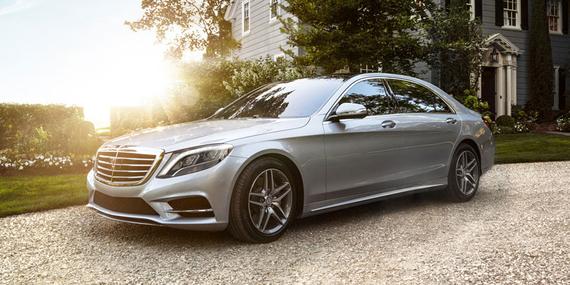 2017 Mercedes-Benz S Class Sedan Exterior Front end